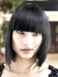 100 Фото зачісок з чубчиком на довге волосся 2015
