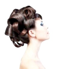 Фото - красива висока весільна зачіска 2013