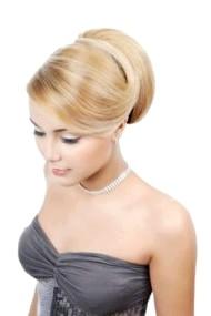 Фото - весільна зачіска для світлого волосся