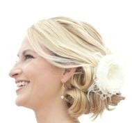 Фото - красива висока весільна зачіска в грецькому стіле2013