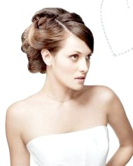 Фото - висока весільна зачіска 2013 фото