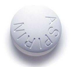 Ацетилсаліцилова кислота від головного болю