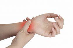 Біль у кисті правої руки