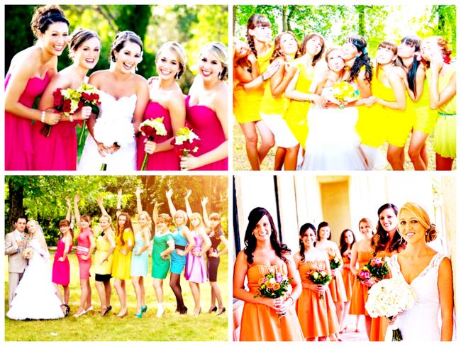 Кольорове весілля для оригіналів