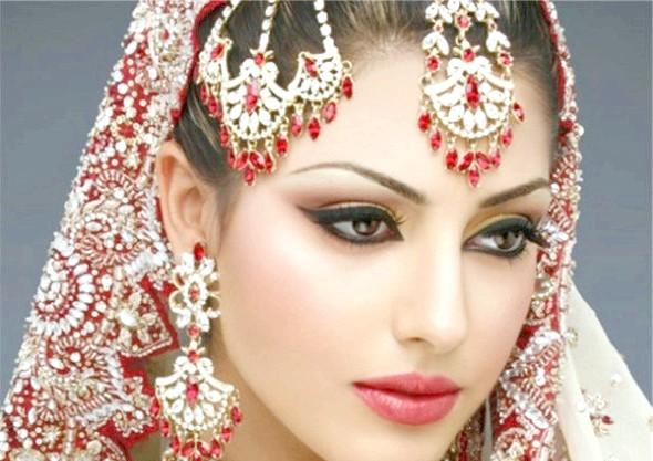 Індійський повсякденний та сценічний макіяж
