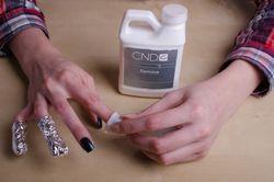 Як зняти гель з нігтів в домашніх умовах?