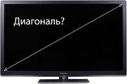 Як вибрати діагональ телевізора