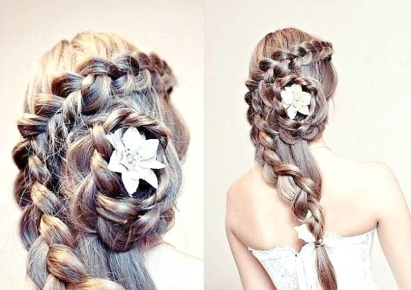 «Мереживні» коси - простота і чуттєвість образу