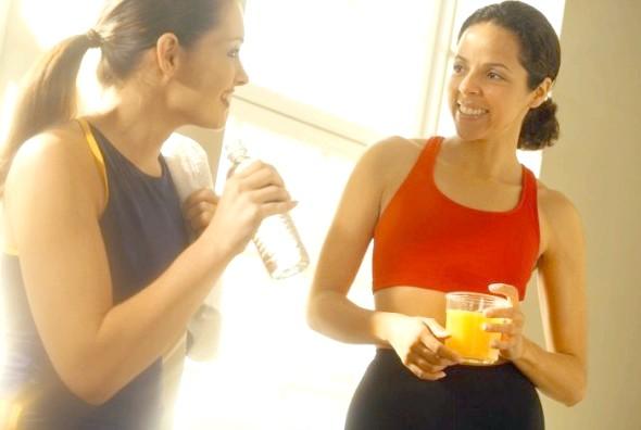 Організм потребує правильного харчування і спорт