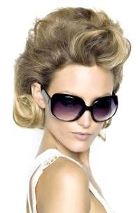 Фото - Начісування на короткому волоссі