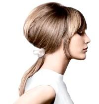 Фото - Зачіски в стилі 60-х років хвіст з начосом