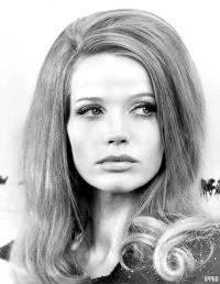 Фото - Зачіски в стилі 60-х з розпущеним волоссям і начосом