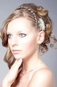 Фото - Весільна зачіска в грецькому стилі