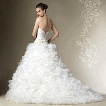 Пишні весільні сукні-2015: фото і модні тенденції