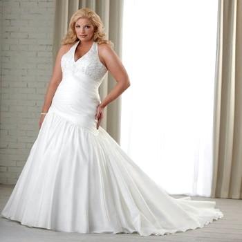 Весільне плаття для повних наречених