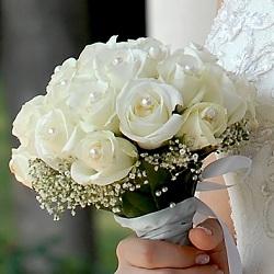 Весільний букет своїми руками