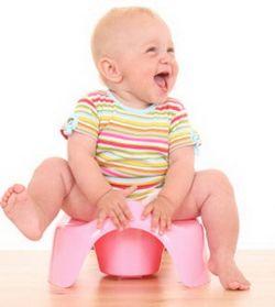 Як правильно привчити дитину до горщика