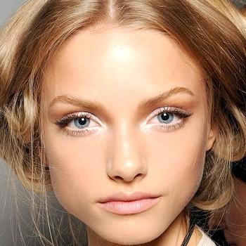 Як зробити денний макіяж очей (покрокове фото)