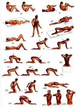 Лікувальні вправи при остеохондрозі
