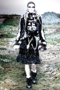 Модні шуби з чорнобурки: з чим комбінувати, 40 фото ідей
