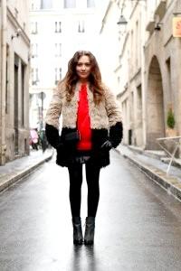 Пальто з штучного хутра - 50 фото, як і з чим носити