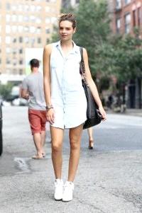 Плаття-сорочка: з чим носити, 45 ідей на фото