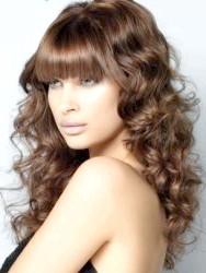 Фото - Колір волосся для брюнеток шоколад 2013