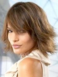 Фото - Стрижки каскад для середніх волосся