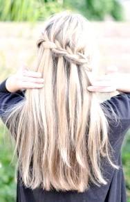Фото - Зачіска водоспад на довге волосся
