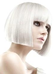 Фото - Стрижка каре для волосся попелястого кольору