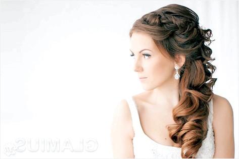 Фото - Зачіска з великими локонами