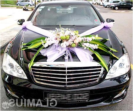Фото - Прикраса мерседеса на весілля