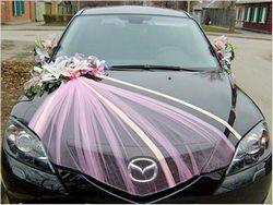Як прикрасити машину на весілля