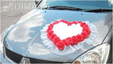 Фото - Серця для весільної машини