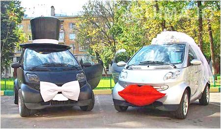 Фото - Як креативно прикрасити весільний автомобіль