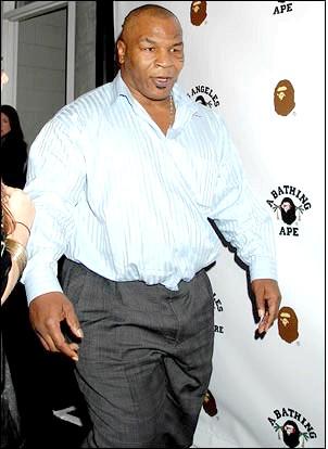 Майк тайсон набирає вагу