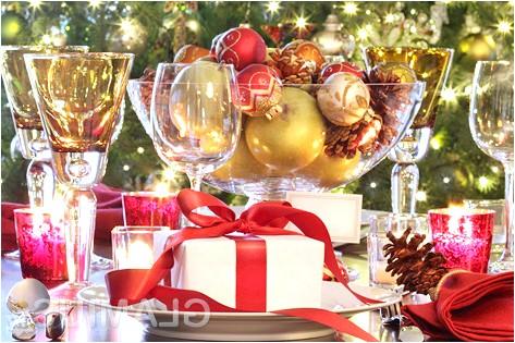 Святковий стіл на новий рік 2015