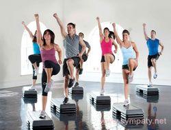 Степ-аеробіка: фізичні навантаження та правила харчування