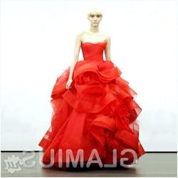 Фото - Червоне весільну сукню Віри Вонг