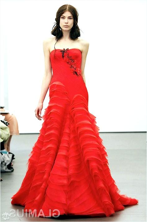 Фото - Весільне плаття-бюстьє від Віри Вонг