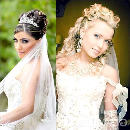 Фото - Красиво укладені зачіски з діадемою для блондинок і брюнеток