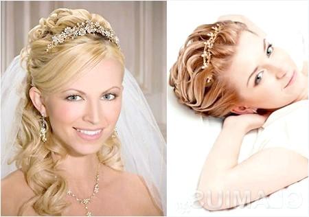 Фото - Складні зачіски з діадемою