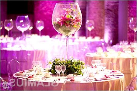 Фото - Прикраса весільного столу своїми руками