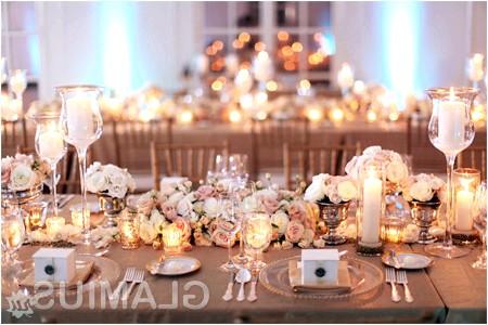 Фото - Прикраса столу свічками
