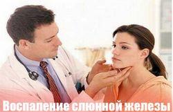 Запалення підщелепної слинної залози